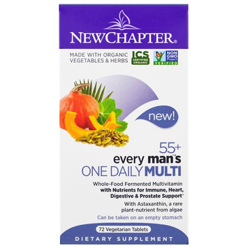 Chapter, 55+ Every Man's One Daily Multi, 72 Veggie Tabs