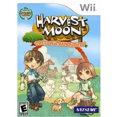 Nintendo Harvest Moon: Tree of Tranquility Wii Game NATSUME