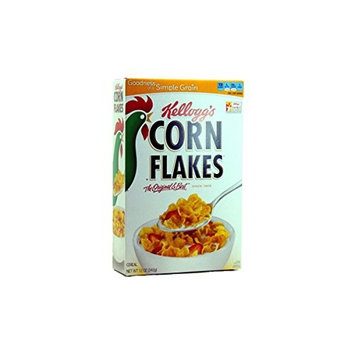 Product Of Kelloggs Cereal, Corn Flakes Box, Count 1 - Cereals / Grab Varieties & Flavors
