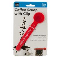 Handy Helpers 2284987 Coffee Scoop with Bag Clip - Case of 16