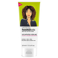 Twisted Sista Curl Perfection Creme Gel Coconut Avocado Formula, 7.5 Ounce