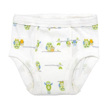 green sprouts Organic Training Underwear, White, L, 2 Count