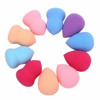 Fabal 10pcs Pro Beauty Makeup Blender Foundation Puff Multi Shape Sponges New