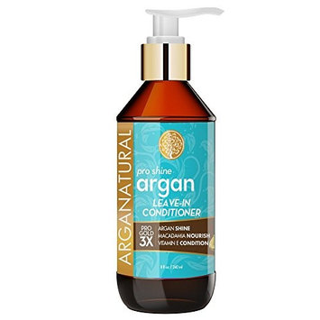 Arganatural Gold Pro Shine Argan Leave-In Conditioner 8 Fluid Ounce