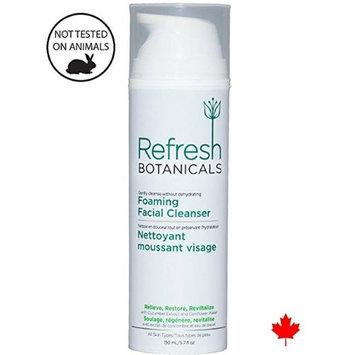 Refresh Botanicals RB-CLN-150 Natural & Organic Foaming Facial Cleanser