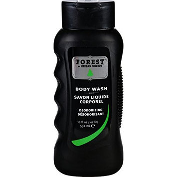 Herban Cowboy Body Wash - Forest - 18 oz (Pack of 4)