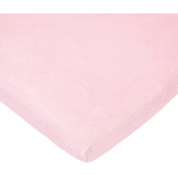 Tl Care Inc TL Care Heavenly Soft Chenille Bassinet Sheet, Pink