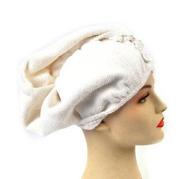 Girlfriend! Microfiber Hair Turban-Ivory