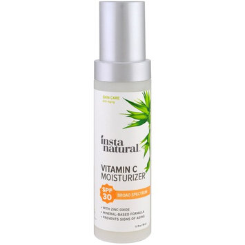 InstaNatural, Vitamin C Moisturizer, SPF 30, Natural Mineral Sunscreen, 1.7 fl oz (50 ml)