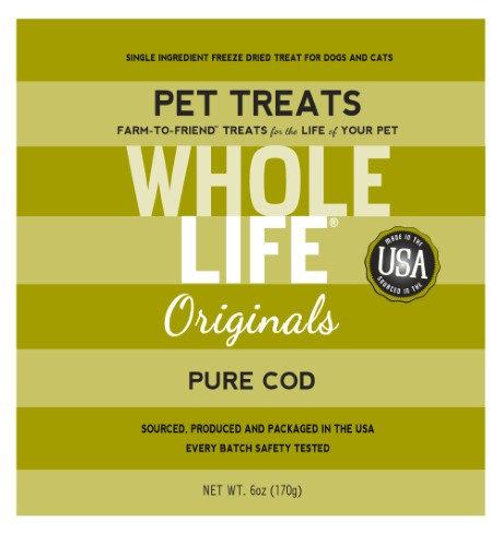 Whole Life Pure Meat Freeze Dried Beef Treats, 1 oz