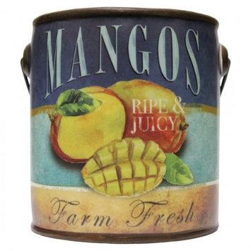 A Cheerful Giver-20 Oz Farm Fresh Ceramic Pail Candle- Mango Tango