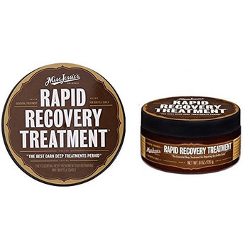 [VALUE SET] PACK OF 2 Miss Jessie's RAPID RECOVERY Treatment 8 OUNCE EA SET : Beauty