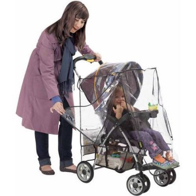 His Juveniles Nuby Deluxe Stroller Weather Shield