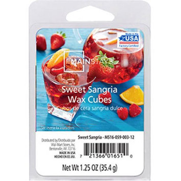 Mainstays Sweet Sangria Wax Cubes