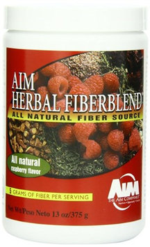 AIM Herbal Fiberblend Raspberry Powder 13oz for cleansing and detoxification & maintaining digestive health