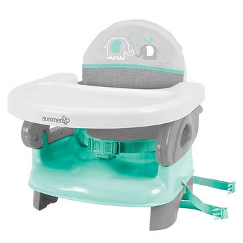 Summer Infant Deluxe Comfort Folding Booster Seat, Multicolor