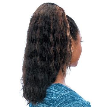 SUPER WAVE (1B Off Black) - Model Model Glance Synthetic Hair Drawstring Ponytail