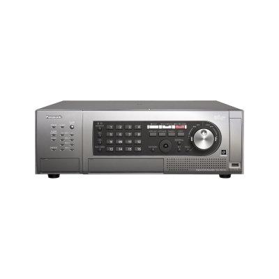 Panasonic Physical Security Panasonic WJ-HD716 16 Channel Professional Video Recorder - 1080i - 2TB HDD - CD-R, DVD+RW, DVD-RW - PAL, NTSC - MPEG-4, H.264, DVD Video - Progressive Scan - Secure Digital (SD), Secure Digital High Capacity (SDHC) - Ethernet - HDMI - USB