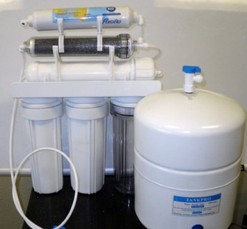Premier Dual Outlet RO/DI Reverse Osmosis Water System 150 GPDs