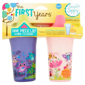 Tomy The First Years 9 oz Simply Sippy Stackable Cups