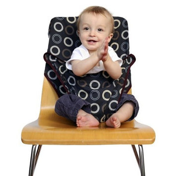 Totseat Chair Harness: The Original Washable and Squashable, Portable Travel High Chair in Apple [Apple]