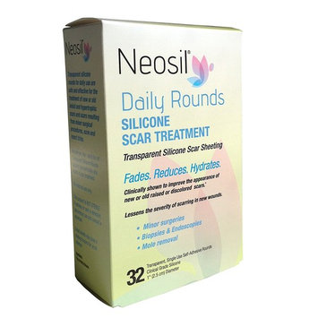 Neosil NEO-0173 Daily Rounds Silicone Scar Sheeting, 1