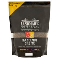 Landmark Lighting Landmark Coffee Beans Hazelnut Creme Coffee Beans, 32 oz