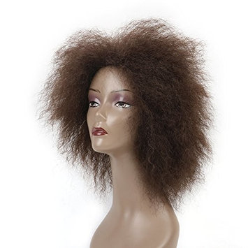 6.5 Inch Hair Synthetic Short Kinky Curly Afro Wig Super Fluffy Wigs for Women 100g/Piece (Color 4#)
