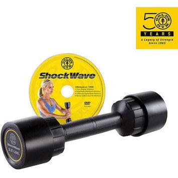 Golds Gym 2.5 lb. ShockWave Dumbbell