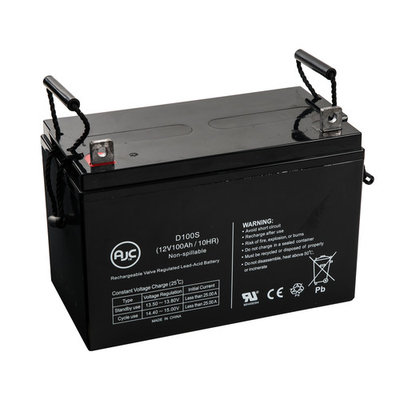 Pride Wrangler PMV 600 12V 100Ah Wheelchair Battery - This is an AJC Brand® Replacement