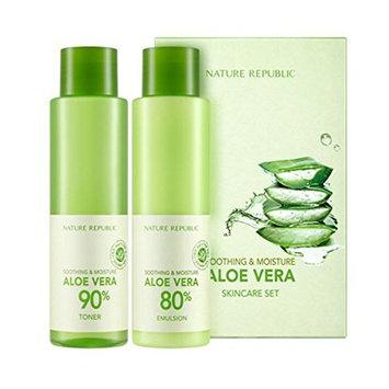 Nature Republic Soothing&Moisture Aloe Vera Skin Care Set
