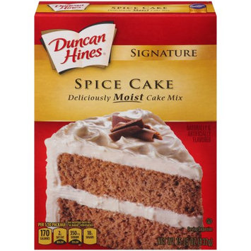 Pinnacle Foods Duncan Hines SIGNATURE LAYER CAKE MIX Spice Cake 15.25 Oz