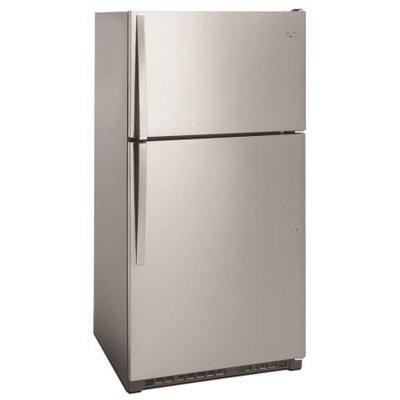 Whirlpool 20.7 Cu. Ft. Top Freezer Refrigerator - Stainless Steel