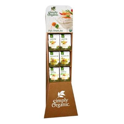 Simply Organic 15823 72 Count Dip Seasoning Mix Shipper