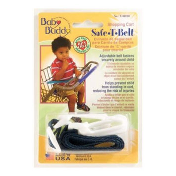 Baby Buddy Shopping Cart Safety Belt - White