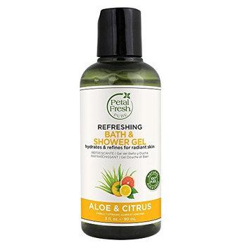 Petal Fresh Pure Refreshing Bath & Shower Gel, Aloe & Citrus, 3 Fluid Ounce