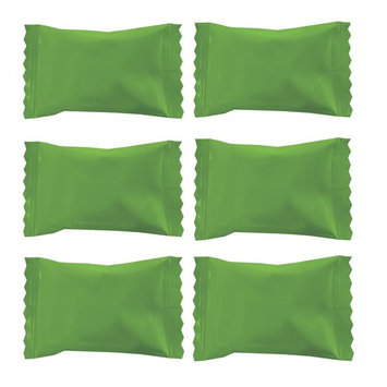 Party Sweets Wrapper Buttermints by Hospitality Mints, 7-Ounce Bag, Appx 50 Mints (Kiwi Green, 2-Pack)