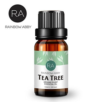 Tea Tree Oil- 100% Pure, Best Therapeutic Grade Essential Oil by Rainbow Abby - 10ml