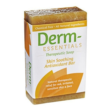 Derm-Essentials Therapeutic Soap - Skin Soothing Antioxidant Bar