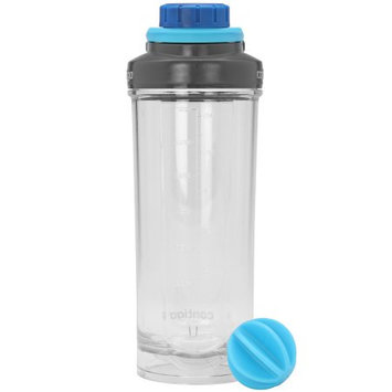 Contigo 28 oz. Shake & Go Fit Tasteguard Mixer Bottle - Clear/Carolina Blue