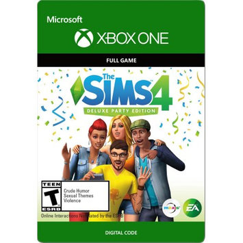 Interactive Communications THE SIMS 4 Deluxe Party Edition Xbox One (Email Delivery)