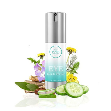 Anti-Aging Eye Gel for Dark Circles, Puffiness, Fine Lines, Wrinkles and Bags Under and Around Eyes, Refreshing Eye Cream Moisturizer With Peptide & Organic Ingredients for Men & Women
