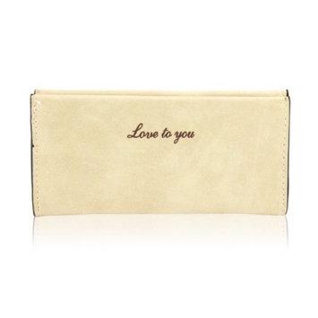 Fashion Women Lady Flip Wallet Soft Leather Clutch Card Holders Purse Lady Long Handbag