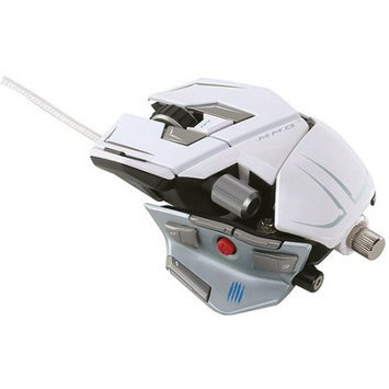 Mad Catz Cyborg MMO 7 Wired Gaming Mouse - White