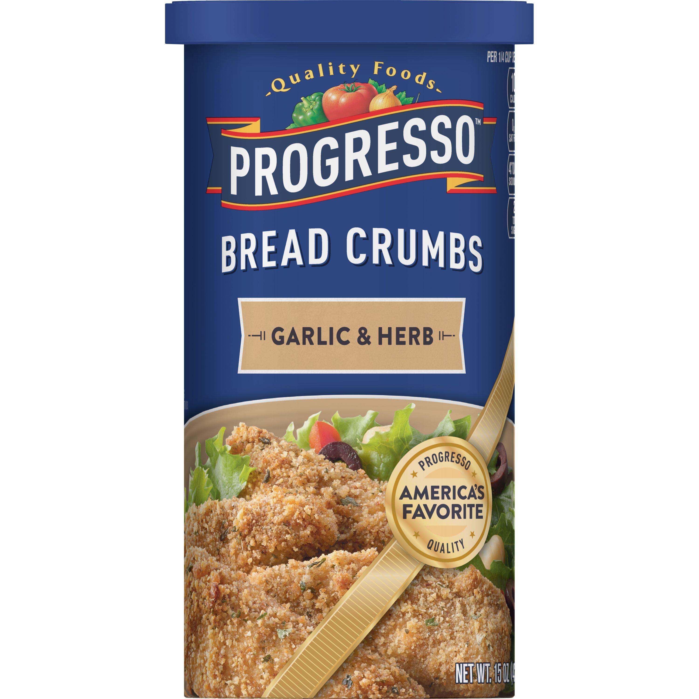 Progresso Garlic and Herb Bread Crumbs, 15 oz