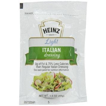Heinz Light Italian Dressing, Single Serve, 1.5 oz. sachet, Pack of 60
