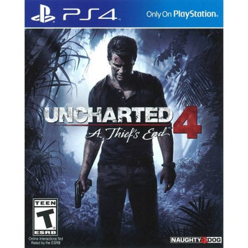 Sony Uncharted 4: A Thief's End - Pre-Owned (PS4)