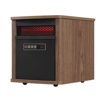 Duraflame 5,200 BTU Portable Electric Infrared Cabinet Heater Finish: Dark Oak