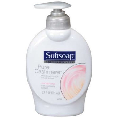 Skin Essential Moisturizing Handsoap, Pure Cashmere, Softening, 7.5 fl oz (221ml) - SOFTSOAP ENTERPRISES INC.