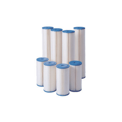 Harmsco HB-20-20-W 20 Micron 20 BB Pleated Filter Cartridge
